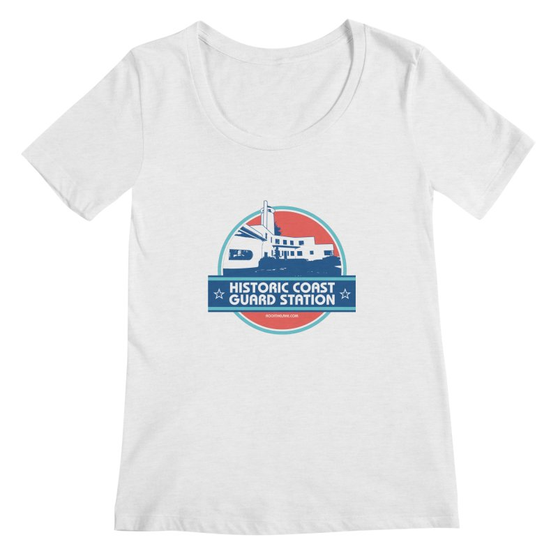 Old Coast Guard Station Women's Regular Scoop Neck by Rock the Lake's Shop