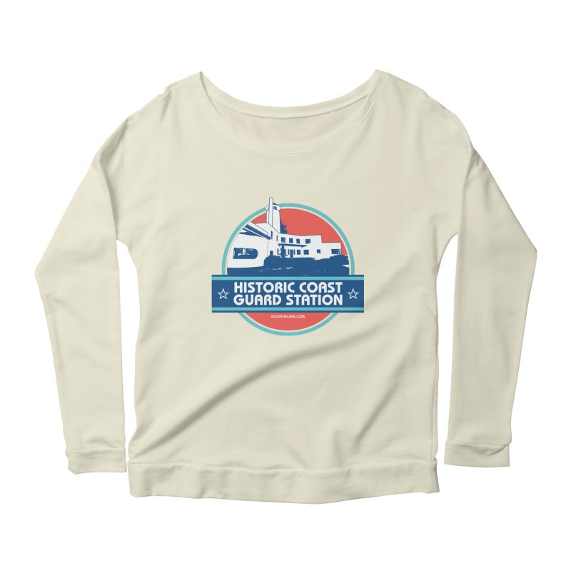 Old Coast Guard Station Women's Scoop Neck Longsleeve T-Shirt by Rock the Lake's Shop