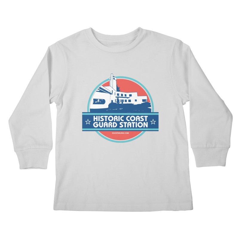 Old Coast Guard Station Kids Longsleeve T-Shirt by Rock the Lake's Shop