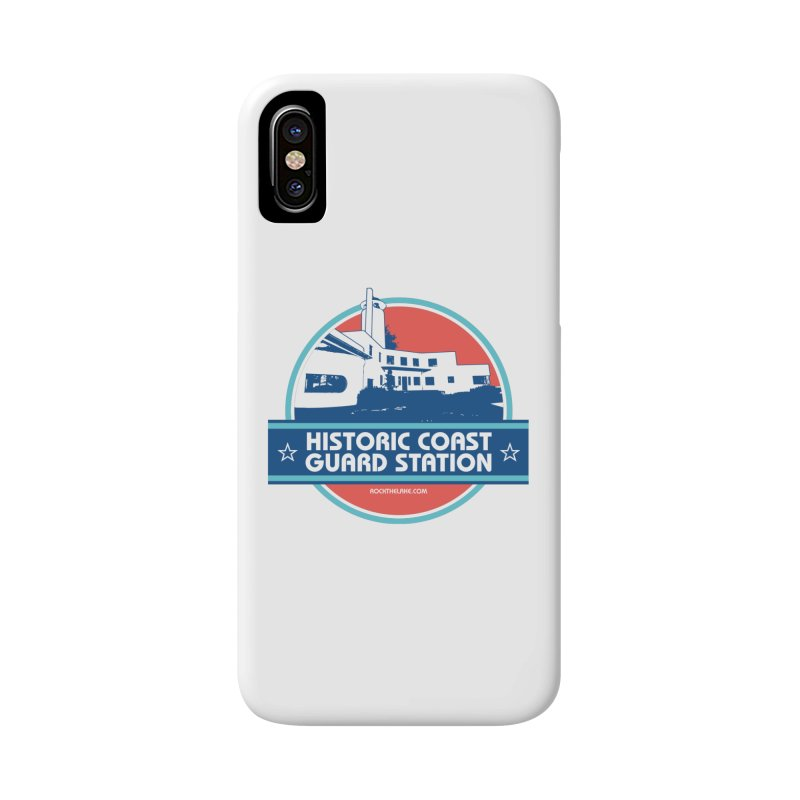 Old Coast Guard Station Accessories Phone Case by Rock the Lake's Shop