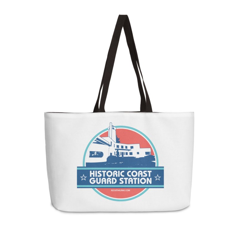 Old Coast Guard Station Accessories Bag by Rock the Lake's Shop