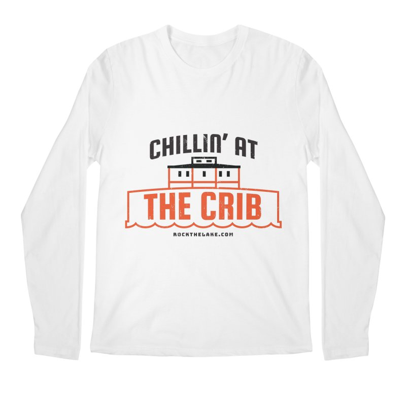 Chillin' at the Crib Men's Regular Longsleeve T-Shirt by Rock the Lake's Shop