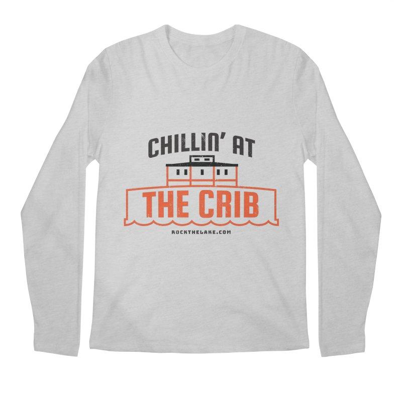 Chillin' at the Crib Men's Regular Longsleeve T-Shirt by Rock the Lake's Shop