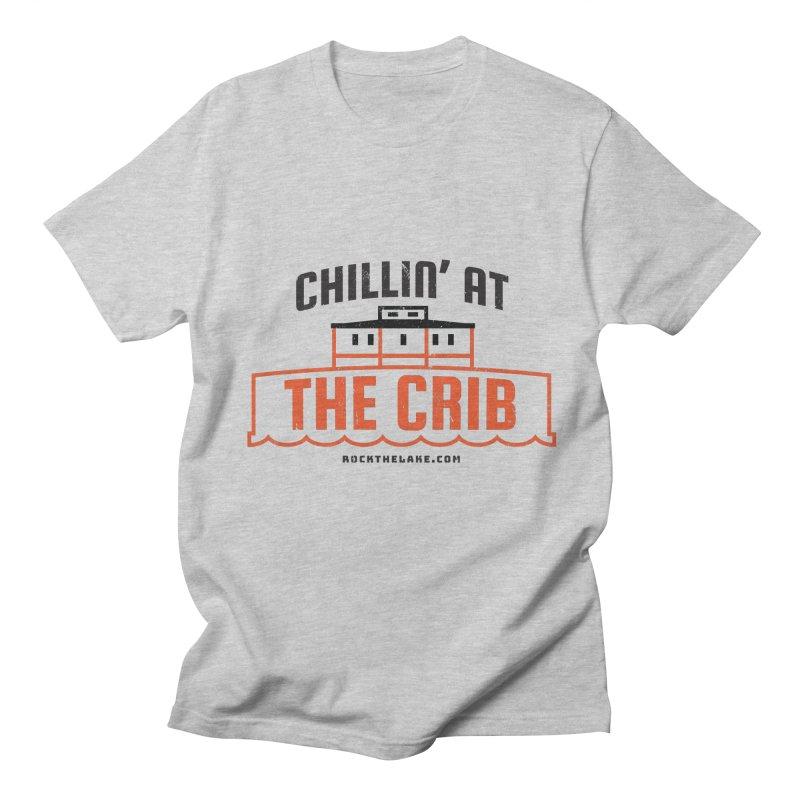 Chillin' at the Crib Men's Regular T-Shirt by Rock the Lake's Shop