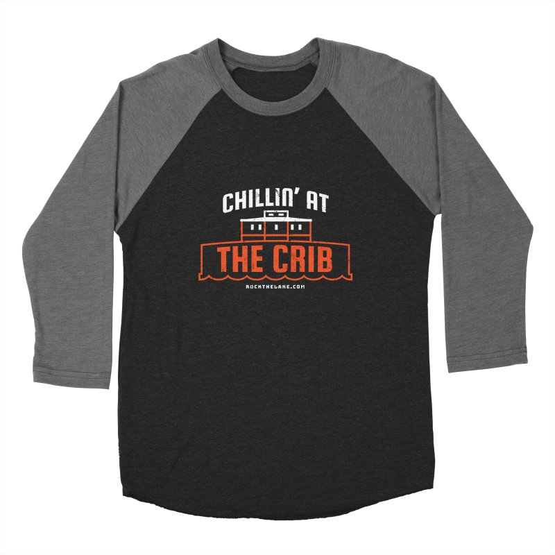 Chillin' at the Crib (alternate) Men's Longsleeve T-Shirt by Rock the Lake's Shop