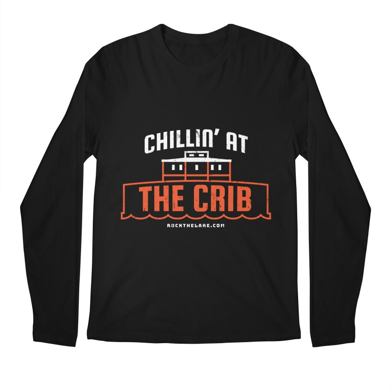 Chillin' at the Crib (alternate) Men's Regular Longsleeve T-Shirt by Rock the Lake's Shop