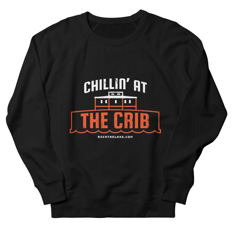 Chillin' at the Crib (alternate) Men's Sweatshirt by Rock the Lake's Shop