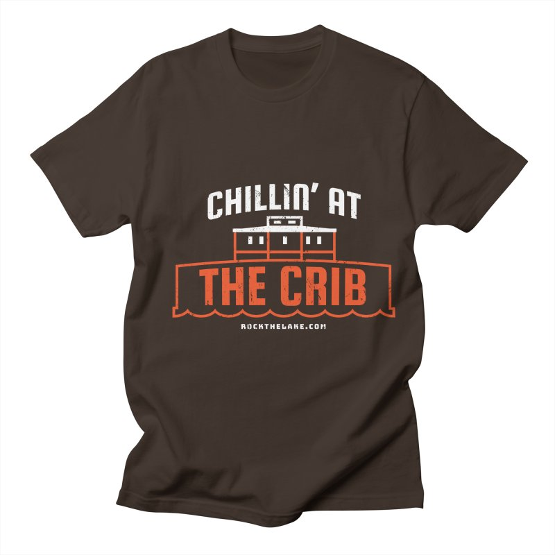 Chillin' at the Crib (alternate) Men's T-Shirt by Rock the Lake's Shop