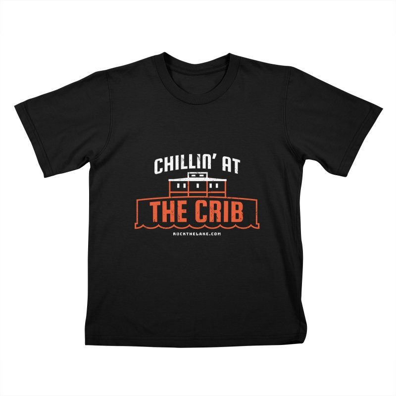 Chillin' at the Crib (alternate) Kids T-Shirt by Rock the Lake's Shop