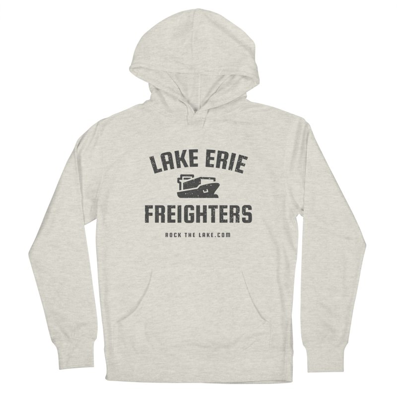 Lake Erie Freighters Men's French Terry Pullover Hoody by Rock the Lake's Shop