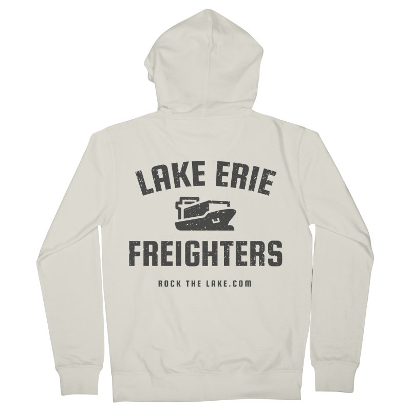 Lake Erie Freighters Men's French Terry Zip-Up Hoody by Rock the Lake's Shop