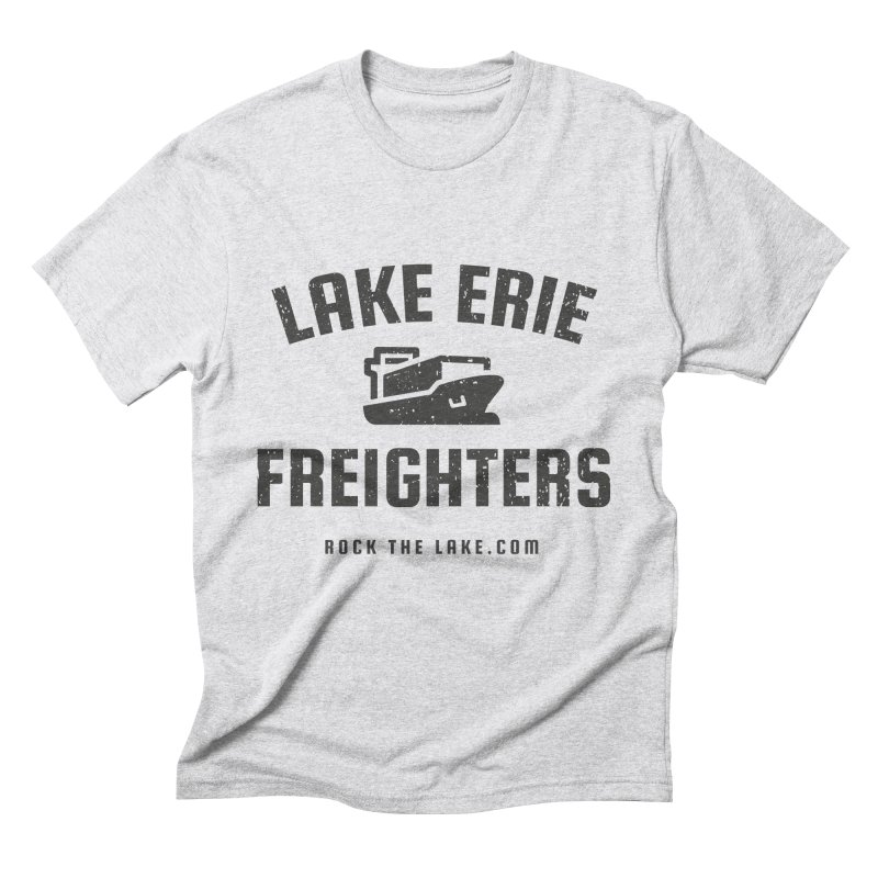 Lake Erie Freighters Men's Triblend T-Shirt by Rock the Lake's Shop