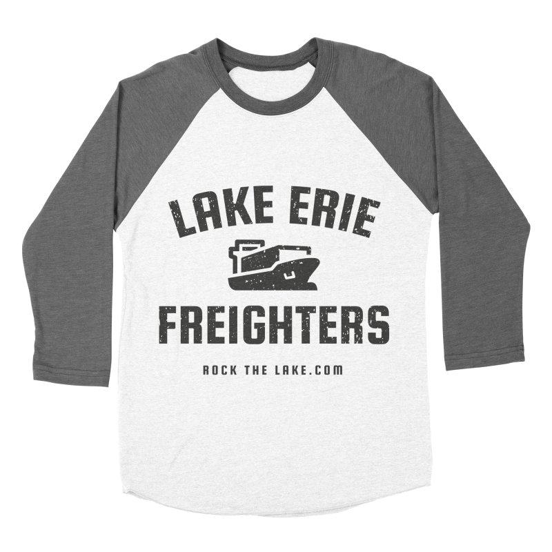 Lake Erie Freighters Men's Baseball Triblend Longsleeve T-Shirt by Rock the Lake's Shop