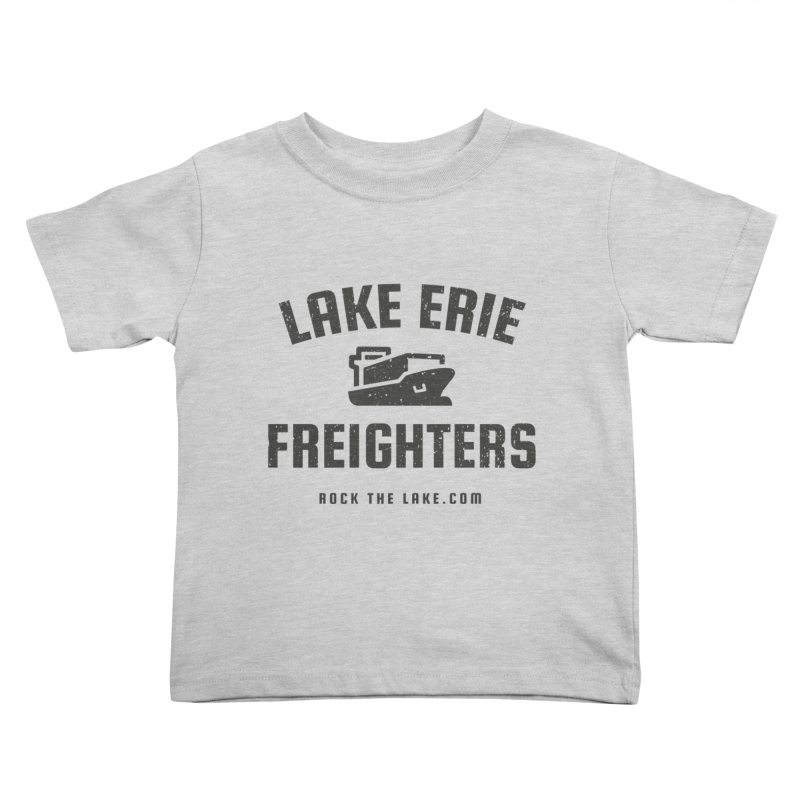 Lake Erie Freighters Kids Toddler T-Shirt by Rock the Lake's Shop