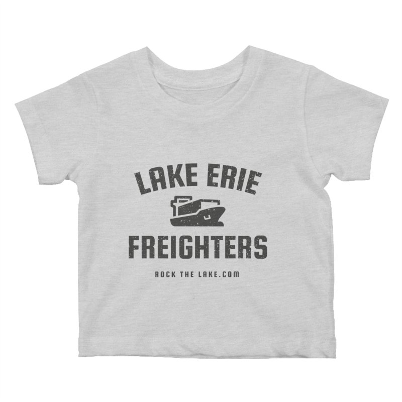Lake Erie Freighters Kids Baby T-Shirt by Rock the Lake's Shop