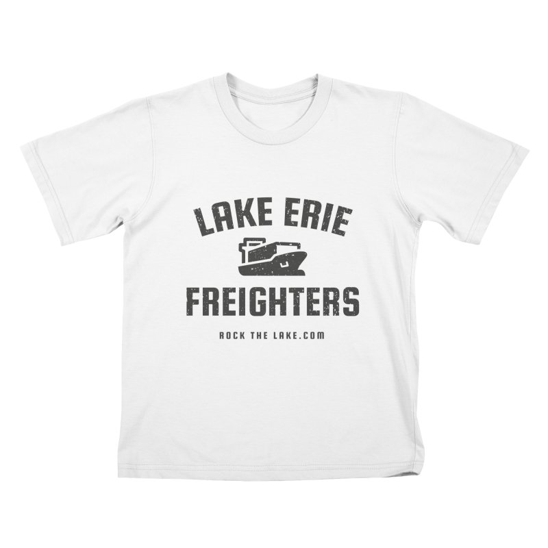 Lake Erie Freighters Kids T-Shirt by Rock the Lake's Shop