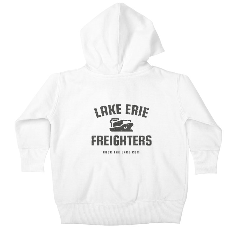 Lake Erie Freighters Kids Baby Zip-Up Hoody by Rock the Lake's Shop