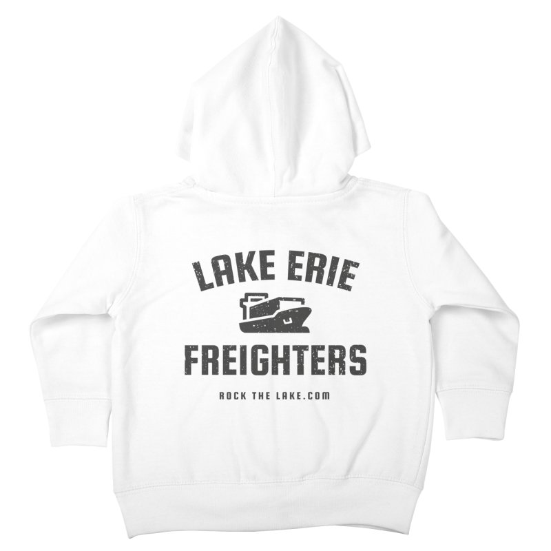 Lake Erie Freighters Kids Toddler Zip-Up Hoody by Rock the Lake's Shop