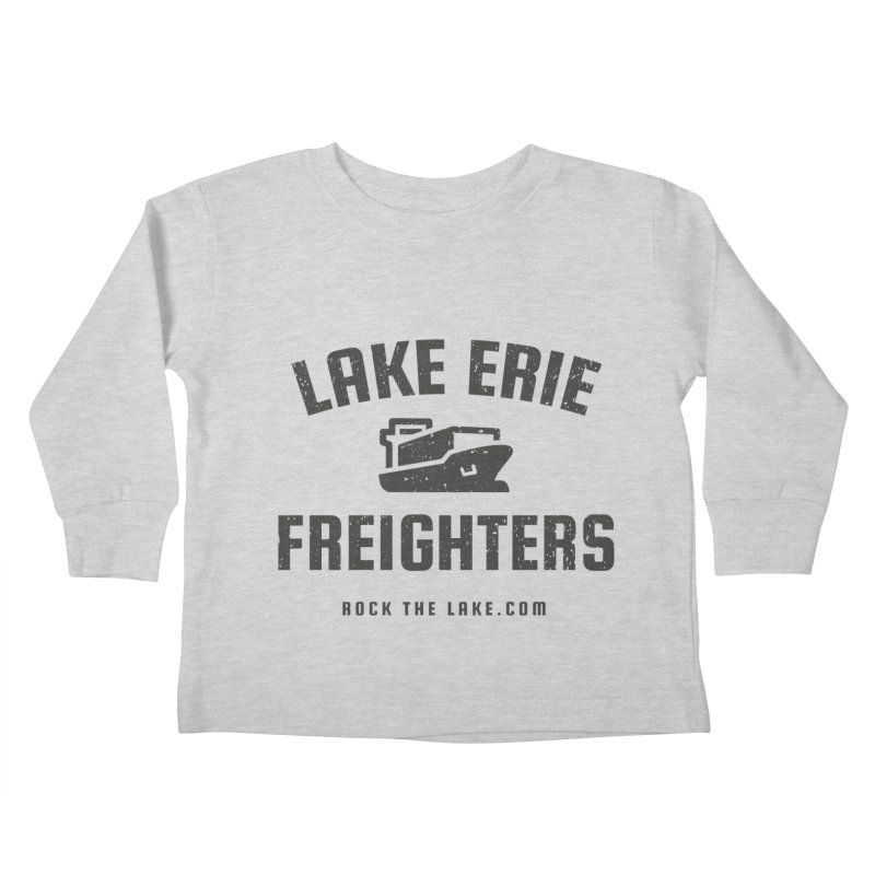 Lake Erie Freighters Kids Toddler Longsleeve T-Shirt by Rock the Lake's Shop