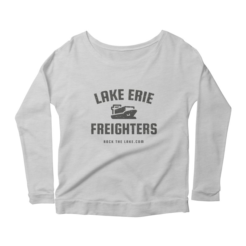 Lake Erie Freighters Women's Scoop Neck Longsleeve T-Shirt by Rock the Lake's Shop