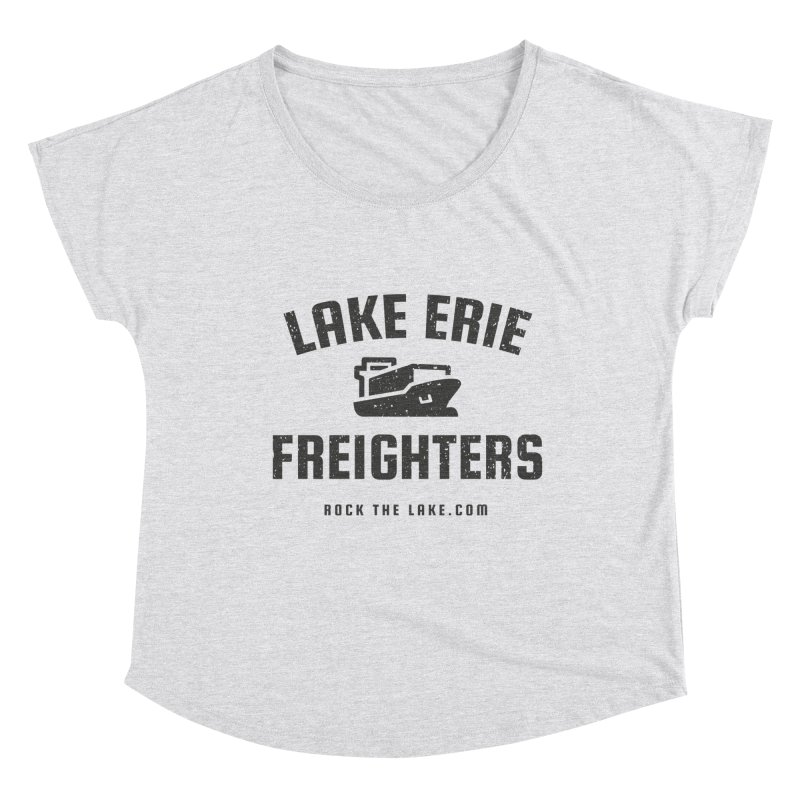 Lake Erie Freighters Women's Scoop Neck by Rock the Lake's Shop