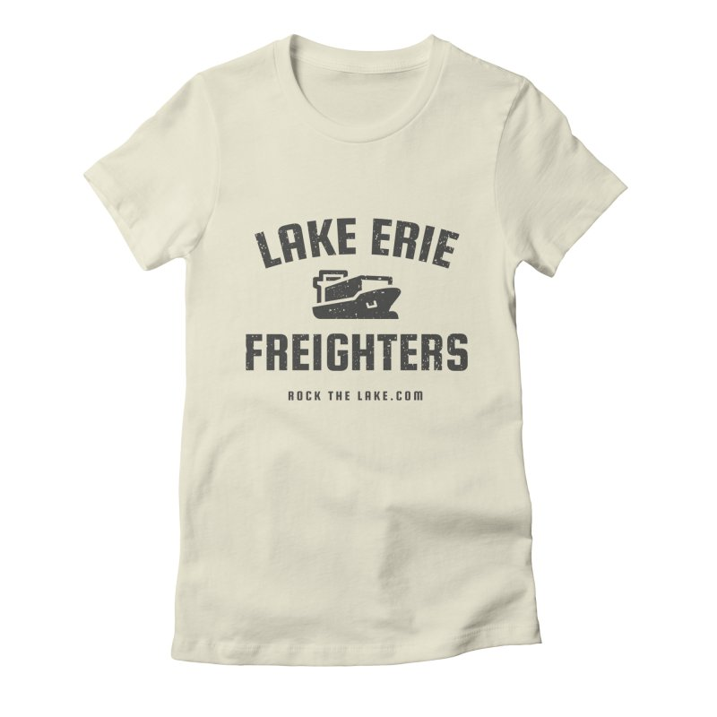 Lake Erie Freighters Women's Fitted T-Shirt by Rock the Lake's Shop