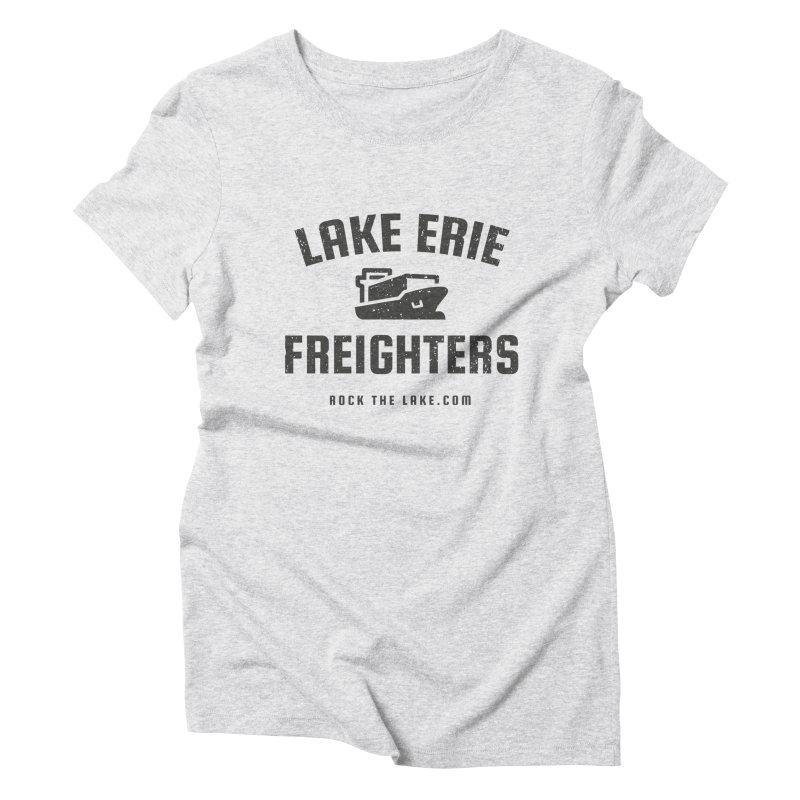 Lake Erie Freighters Women's Triblend T-Shirt by Rock the Lake's Shop