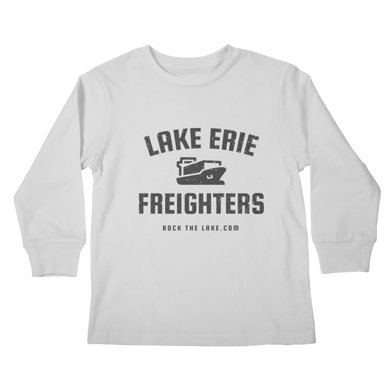 Lake Erie Freighters Kids Longsleeve T-Shirt by Rock the Lake's Shop