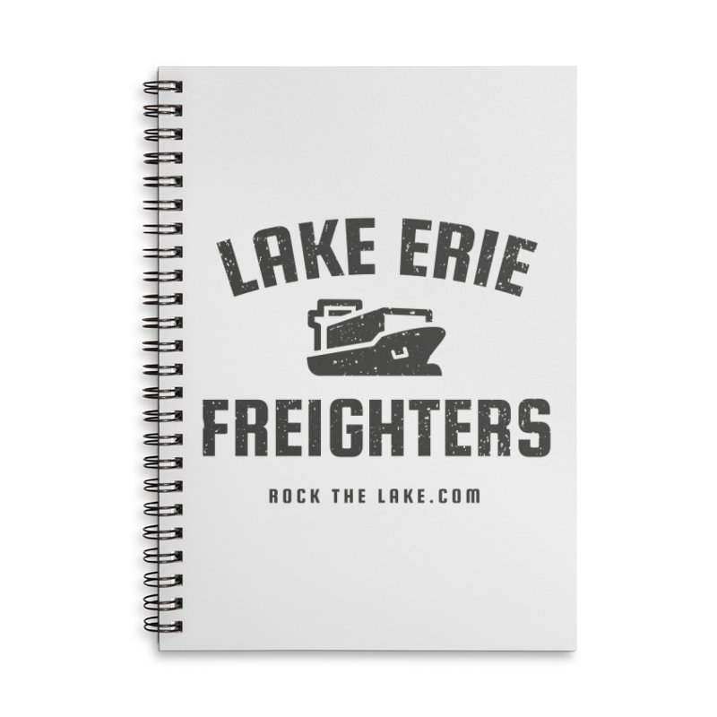 Lake Erie Freighters Accessories Lined Spiral Notebook by Rock the Lake's Shop