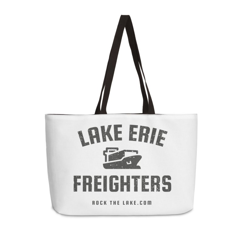 Lake Erie Freighters Accessories Weekender Bag Bag by Rock the Lake's Shop