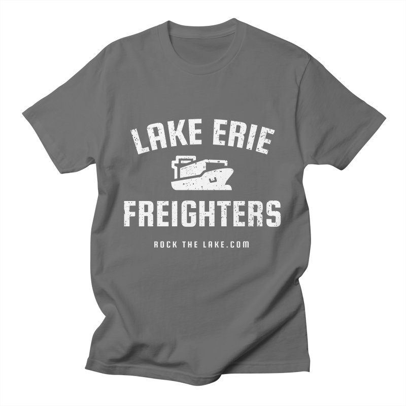 Lake Erie Freighters (alternate) Men's T-Shirt by Rock the Lake's Shop