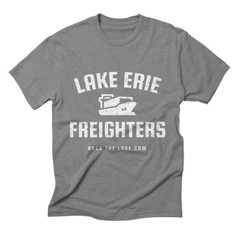 Lake Erie Freighters (alternate) Men's Triblend T-Shirt by Rock the Lake's Shop