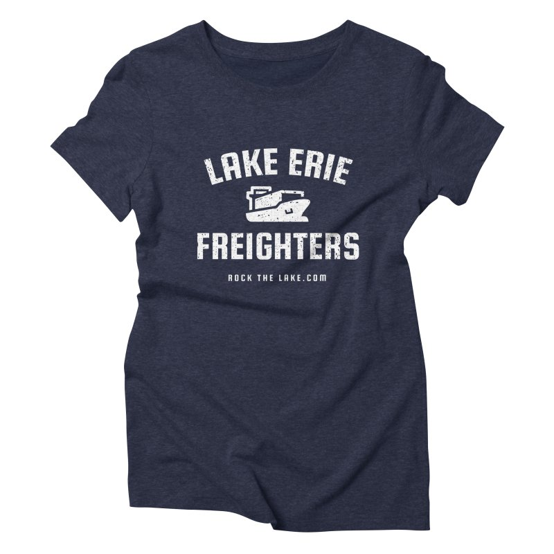 Lake Erie Freighters (alternate) Women's Triblend T-Shirt by Rock the Lake's Shop
