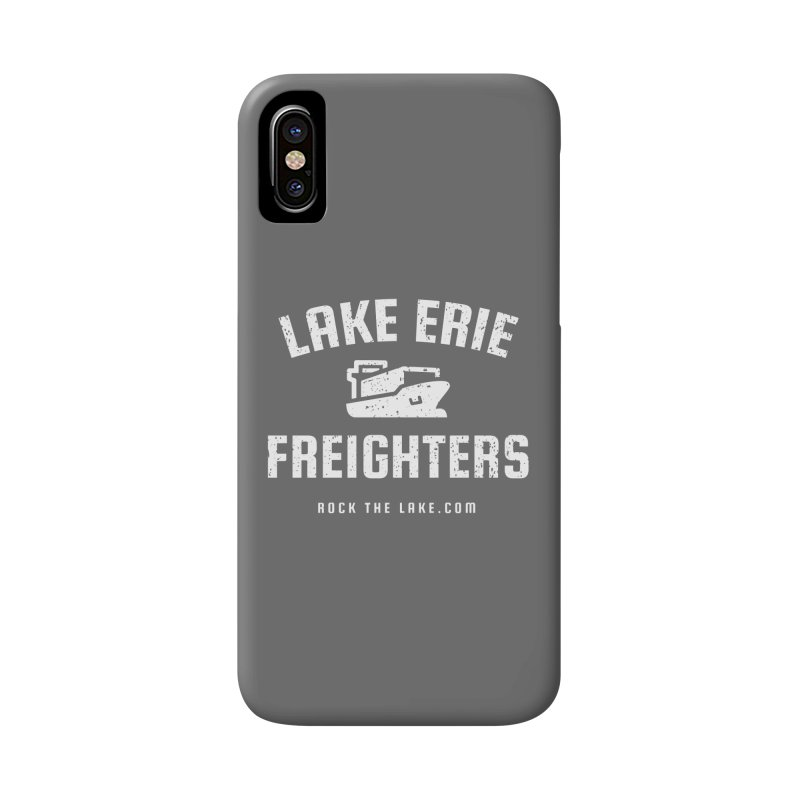 Lake Erie Freighters (alternate) Accessories Phone Case by Rock the Lake's Shop
