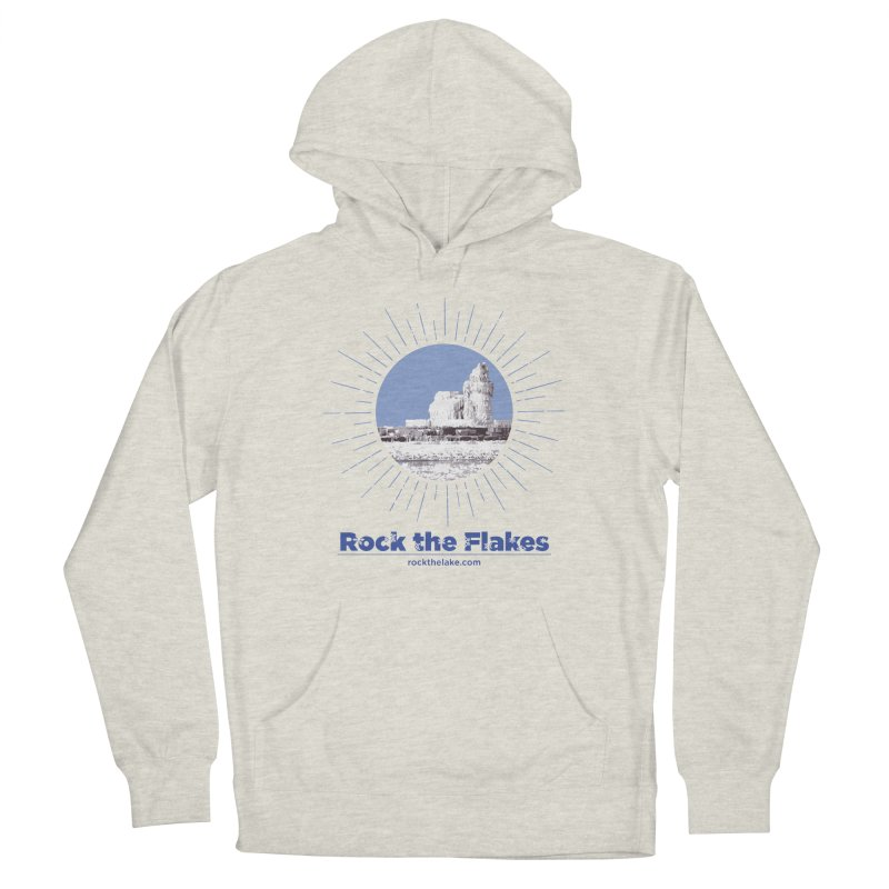 Ice is Nice Men's French Terry Pullover Hoody by Rock the Lake's Shop