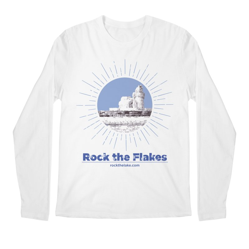 Ice is Nice Men's Longsleeve T-Shirt by Rock the Lake's Shop