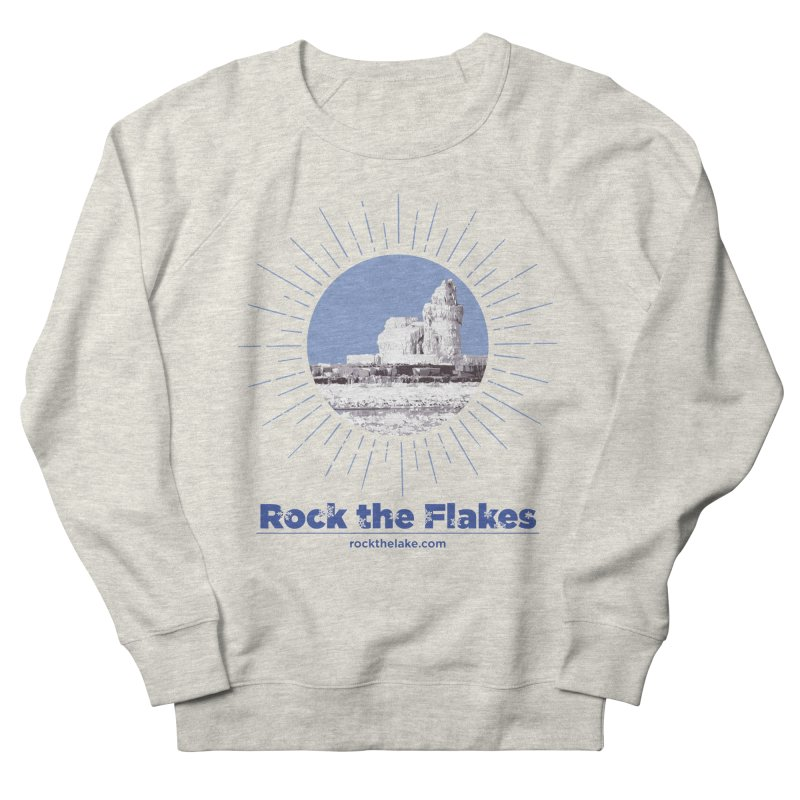 Ice is Nice Men's French Terry Sweatshirt by Rock the Lake's Shop