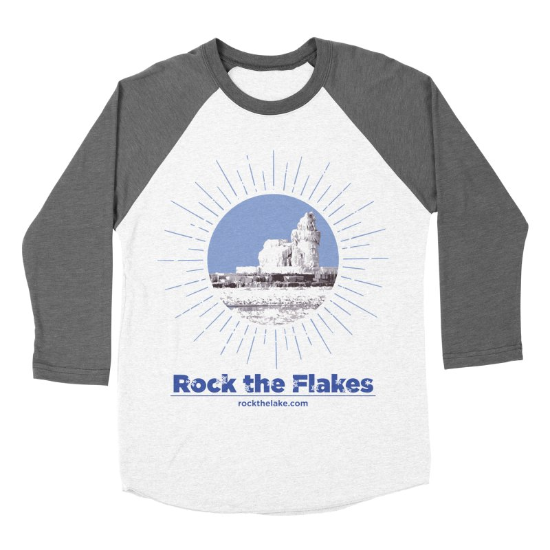 Ice is Nice Women's Baseball Triblend Longsleeve T-Shirt by Rock the Lake's Shop