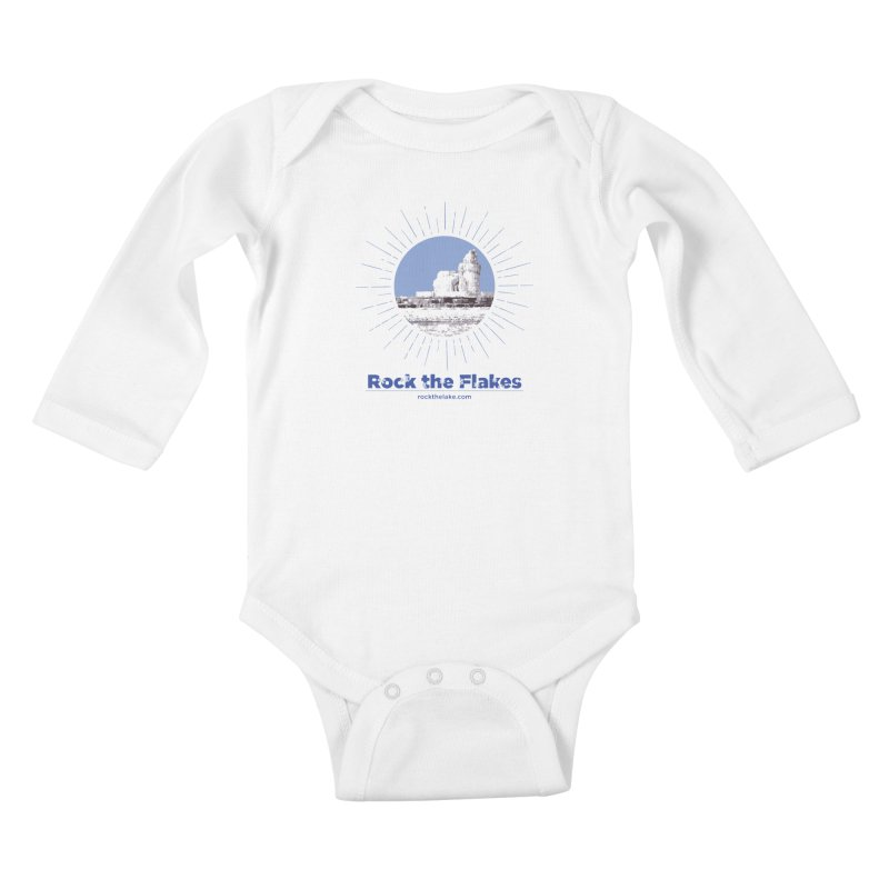 Ice is Nice Kids Baby Longsleeve Bodysuit by Rock the Lake's Shop
