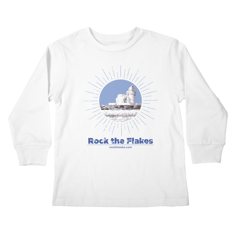 Ice is Nice Kids Longsleeve T-Shirt by Rock the Lake's Shop