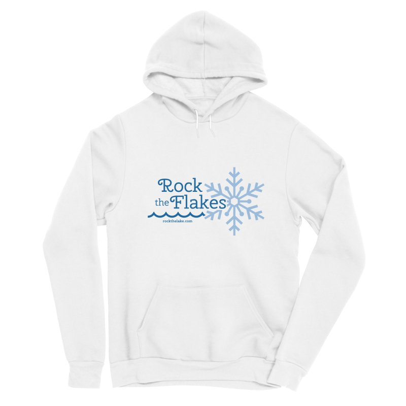 Rock the Flakes Men's Pullover Hoody by Rock the Lake's Shop