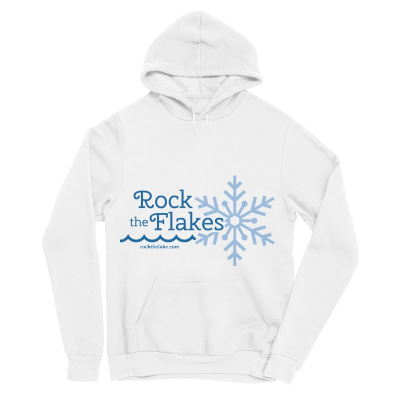 Rock the Flakes Men's Sponge Fleece Pullover Hoody by Rock the Lake's Shop