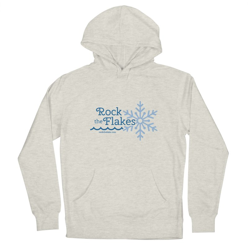 Rock the Flakes Men's French Terry Pullover Hoody by Rock the Lake's Shop