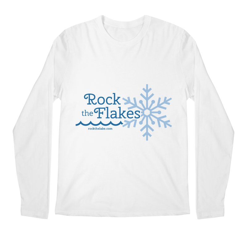 Rock the Flakes Men's Regular Longsleeve T-Shirt by Rock the Lake's Shop