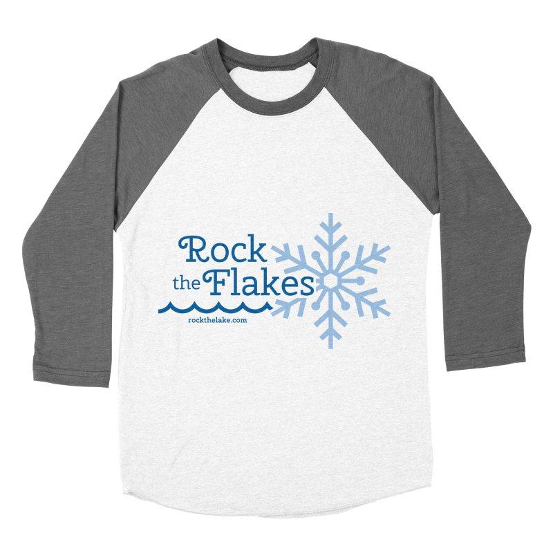 Rock the Flakes Women's Baseball Triblend Longsleeve T-Shirt by Rock the Lake's Shop