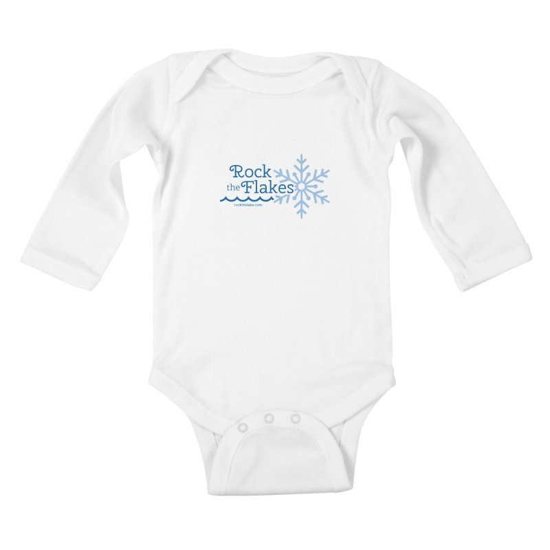 Rock the Flakes Kids Baby Longsleeve Bodysuit by Rock the Lake's Shop
