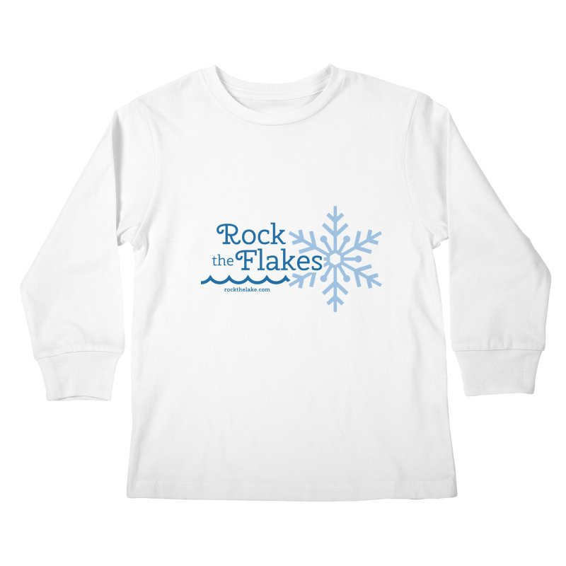 Rock the Flakes Kids Longsleeve T-Shirt by Rock the Lake's Shop