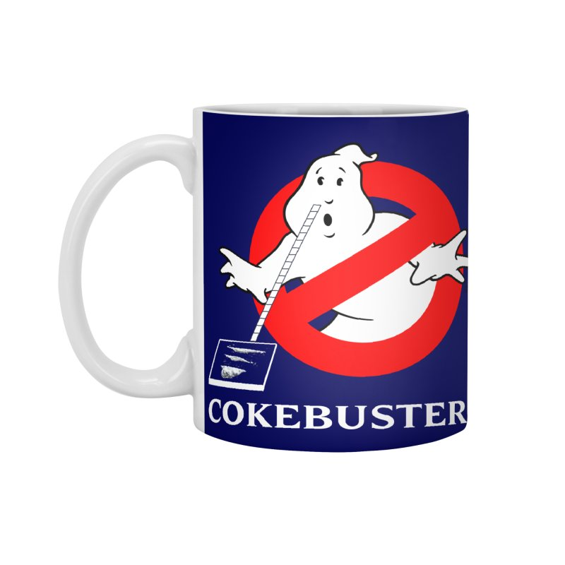 Cokebusters Reprise Accessories Mug by rockthestereo's Artist Shop