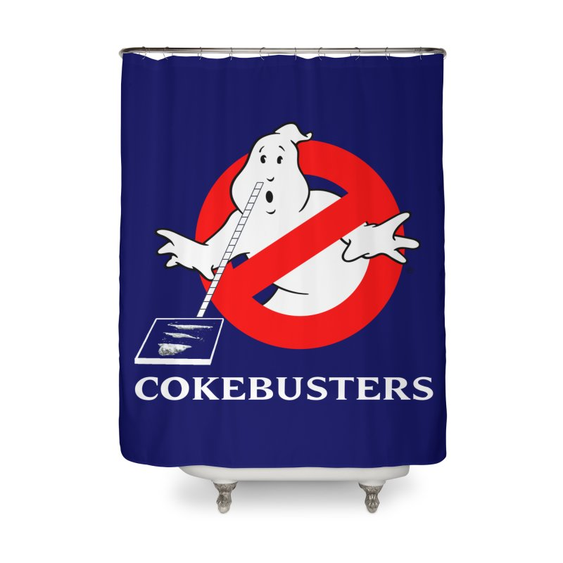 Cokebusters Reprise Home Shower Curtain by rockthestereo's Artist Shop