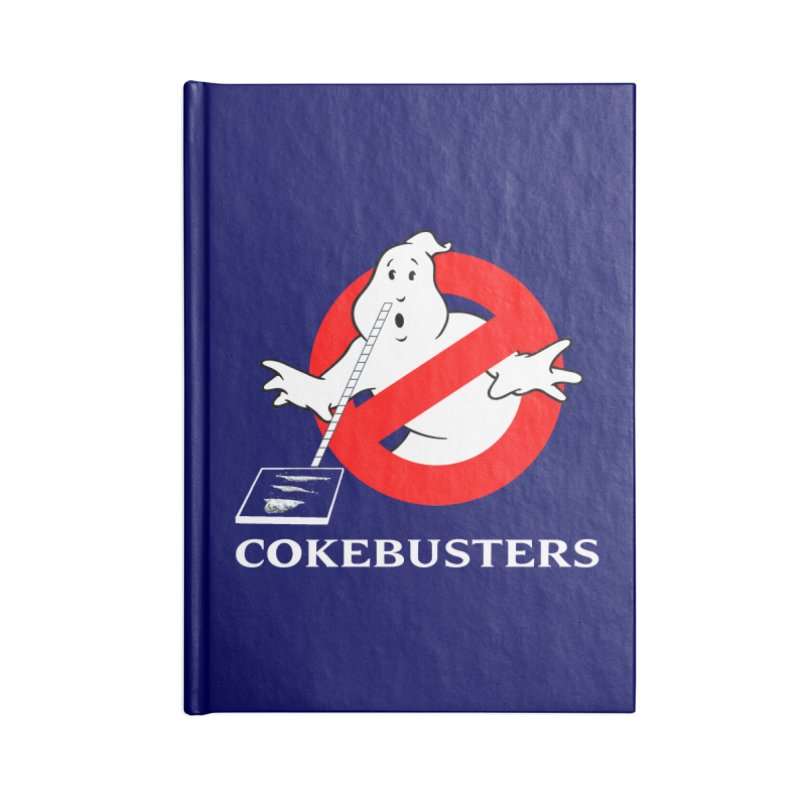 Cokebusters Reprise Accessories Notebook by rockthestereo's Artist Shop